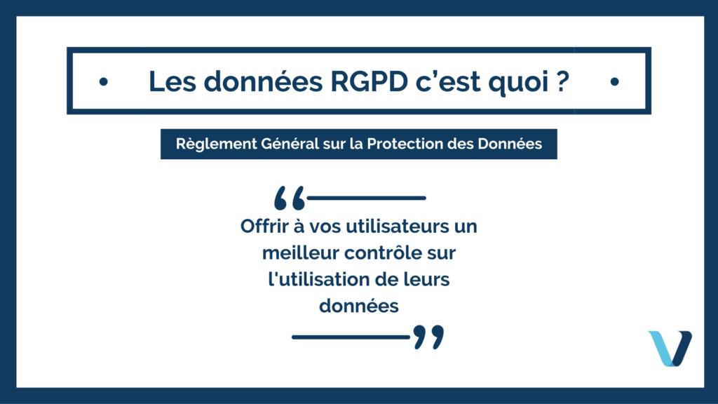 Les données RGPD c'est quoi ? Sécurisez les données de vos utilisateurs pour un site plus performant et rassurant !