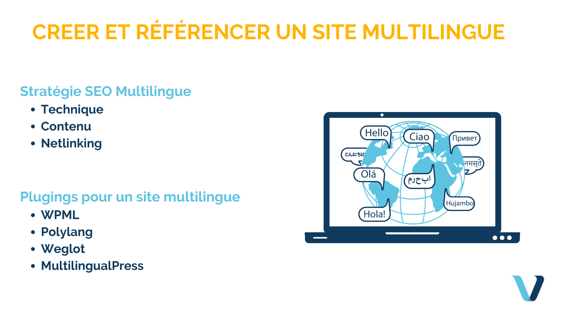 Comment faire un site multilingue et le référencer ?