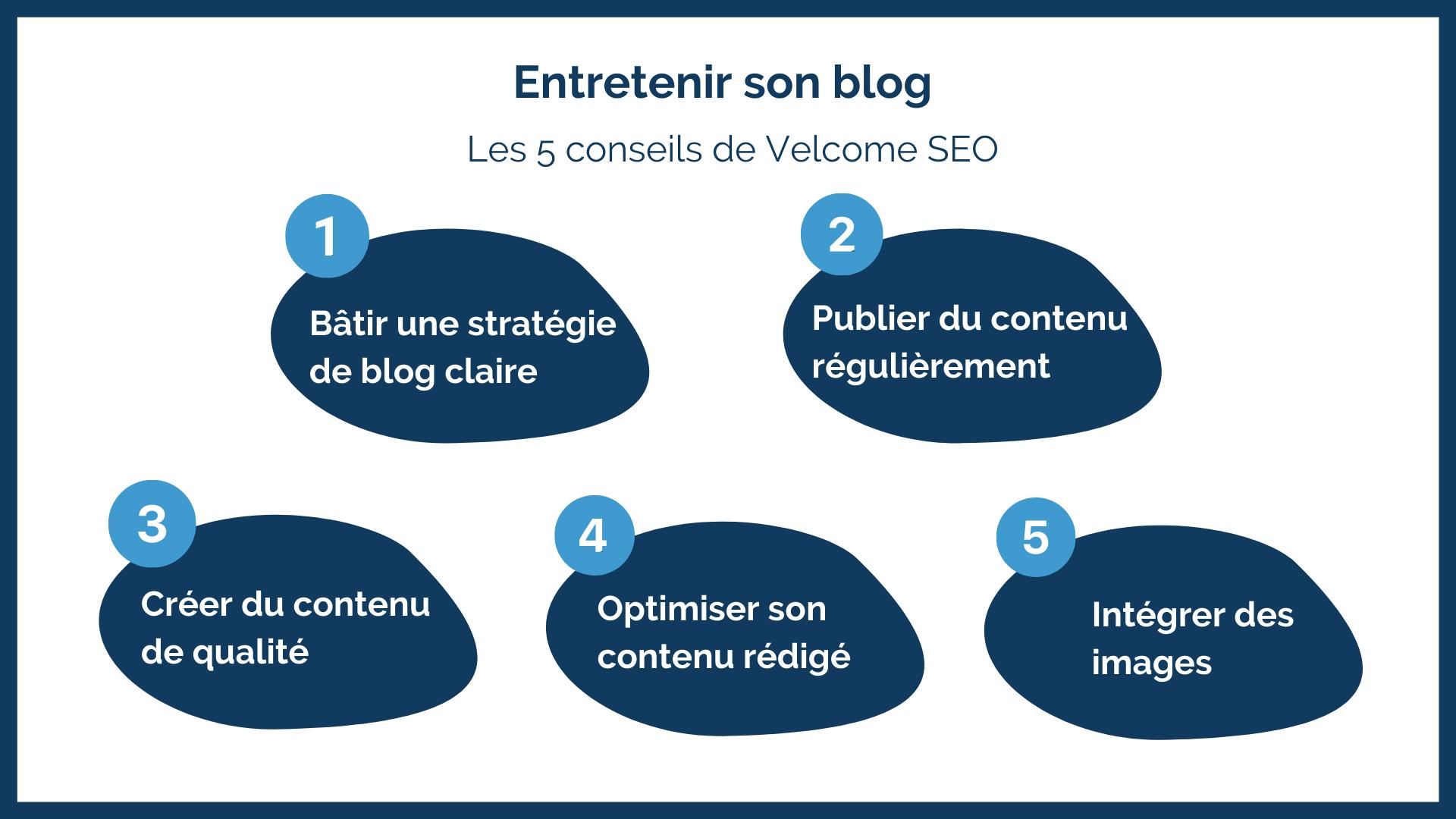 Entretenir son blog : les 5 conseils de Velcome SEO
